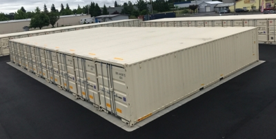 Storage Facility Built with Flex-Box Containers